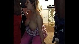 sexy wife sucks bbc pt