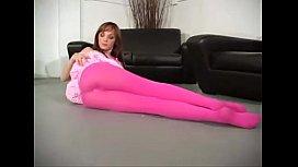 charlie laine teases in her leggings
