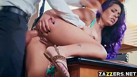 Yurizan Beltran fuck by her therapist from behind