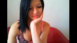 Sexy angel teen webcam masturbation