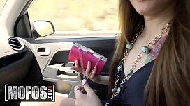 Stranded Teens - (Elle Rose) - Tits For Transit - MOFOS