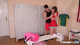 Gym Fuck Action With Teen Cheerleader Lana Seymour