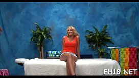 Hot sweetheart engulfing off deep her massage therapist