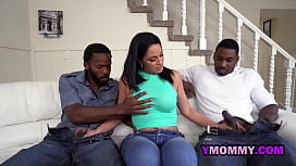 Spanish tutor is drilled hard by horny black men with big black cock