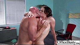 Round Big Boobs Girl krissy In Sex Scene In Office clip