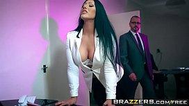 Brazzers - Big Tits at Work -  Take Your Teen To Work Day scene starring Candi Kayne and Luke Hardy