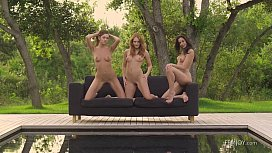 Trios of Tease compilation by Femjoy