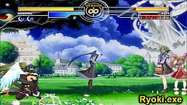 Kuromaru Vs Dizzy The Queen of Fighters