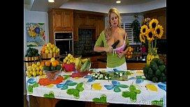 Busty Goddess Will Make You Love Veggies