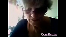 Grandma Shows Off Her Brea usty Grandma Sh