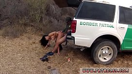 Cop fucks whore Stunning Mexican floozie Alejandra Leon atte to