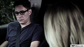 Aubrey Sinclair fucks for easy driver licence