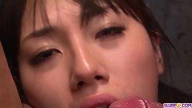 Strong POV Asian porn with naked Azusa Nagasawa - More at Slurpjp.com