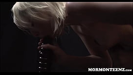 Mormon Teen Trillium Multiple Orgasms On Dildo Apparatus