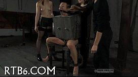 Hot torment for ravishing slaves