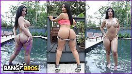 BANGBROS - Latina MILF Rose Monroe Gets Her Magnificent Ass Fucked By Peter Green blowjob compilation