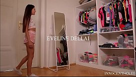 Innocent Teen Eveline Dellai Has Hard Anal Sex and Rides in Reverse Cowgirl