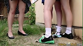 Real aussie teens licked