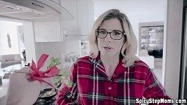 UK stepmother MILF goddess Cory Chase POV style fuck