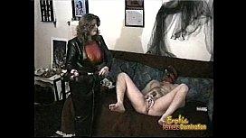 Hung stallion enjoys having his cock pleasured in numerous kinky ways