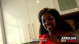 Black Girlfriend Punished HARD for Not Doing Dishes