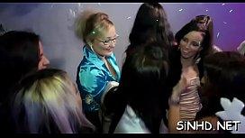 Slumber party porn