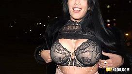 Busty latina Katrina Moreno fucks for easy money