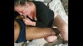 His wife payed off his debt the best way she knew how lol AmatureBlowjob