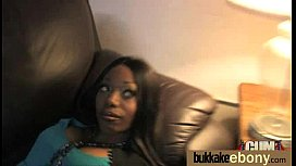 Ebony Slut Gets An Interracial Group Sex 12