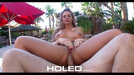 HOLED - Busty Phoenix Marie takes anal play to a new level