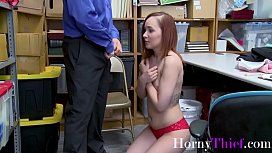 Brunette Teen Gets Forced By OLD guard