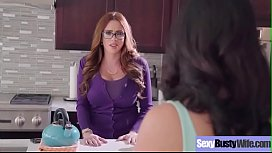 Sex On Cam With Horny Big Juggs Wousewife (Ariella Ferrera &amp_ Missy Martinez) movie-04