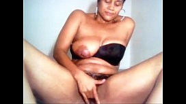 Creamalicious fingers her pussy sucks pussy juice and spits inside her pussy