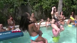 Sex Party Pool with Teen Girls