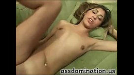 Hot girl takes it in her ass as seen at assdominationus