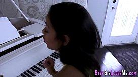 Latina teenager strokes