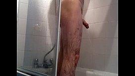 Having A Shower