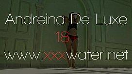 Hot Columbian Andreina De Luxe shows big ass