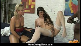 a great hardcore interracial sex with hot Milf 4