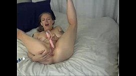Hot Blonde Masturbates and Toys Herself to a Squirting Orgasm on Slutsandcamscom