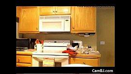 Blonde in the kitchen Webcam Ca om