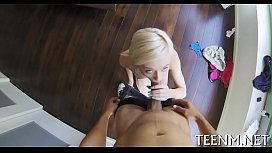 Salacious bawdy cleft pounding for teen maddy rose