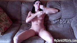 Would you jerk your cock and let me watch JOI