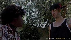 Ebony Daizy Cooper Fucks Huge Wite Dick