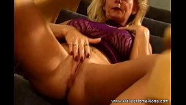 Happy Housewife With Moist Pussy Toy