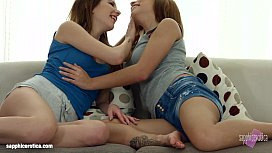 Lovemaking the lesbian way with Candy Sweet and Candy Bell on Sapphic Erotica