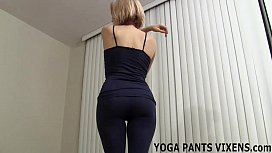 I will help you cum in the yoga pants you love so much JOI