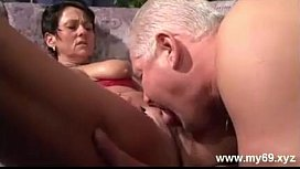 Mature german couple fuck for the camera