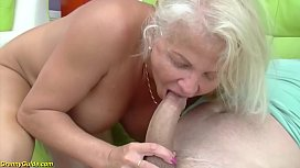 crazy 73 years old granny rough anal fucked image