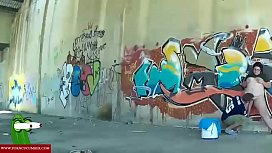 Back to graffiti to eats the pussy RAF